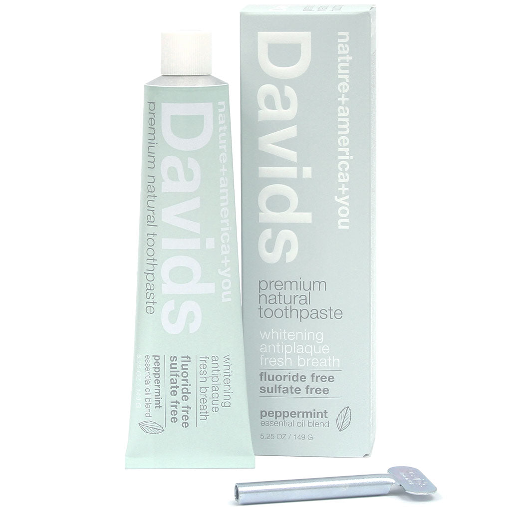 Davids Premium Natural Toothpaste - True Beauty Collective