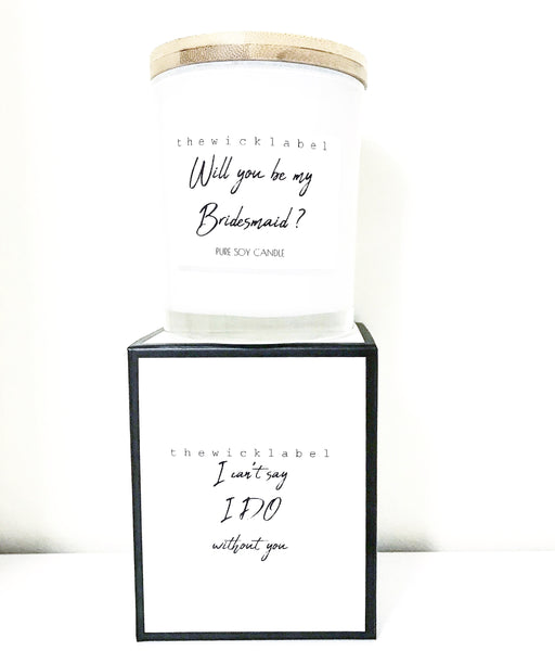 BRIDESMAID CANDLES LARGE