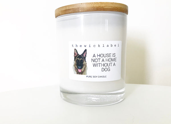 DOG RESCUE CANDLES LARGE