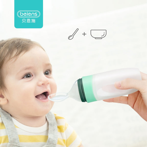 Baby Bottle Spoon Feeder 3oz / 90ml