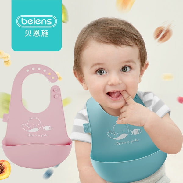 Waterproof Silicone Baby Bibs