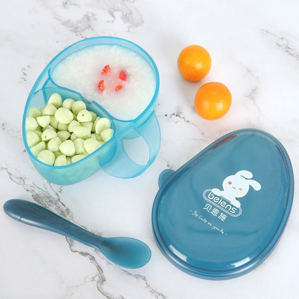 Baby Bowl and Spoon SET of 2 PCS
