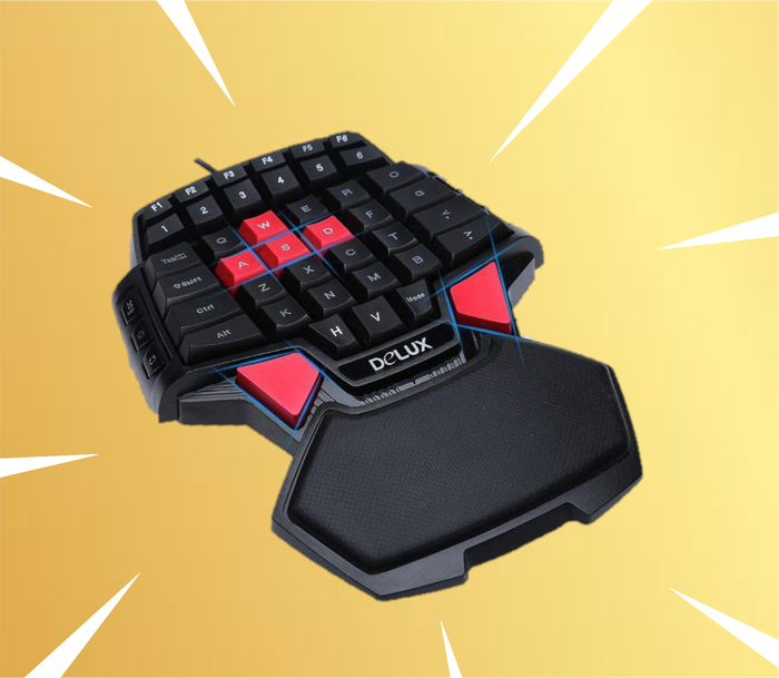 Pro-Gamer One handed Keyboard (Console Compatible )