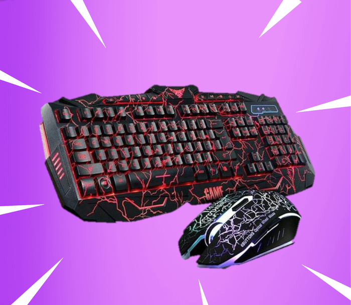 Thunder LED Keyboard/Mouse Bundle ( Console Compatible )