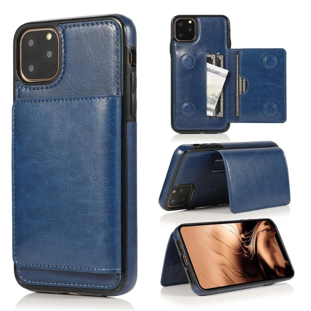 Leather Wallet  for iPhone