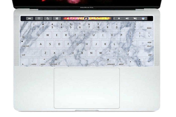 Marble Macbook Waterproof keyboard Cover