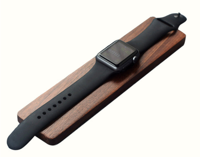 Wooden Apple Watch Charging Dock