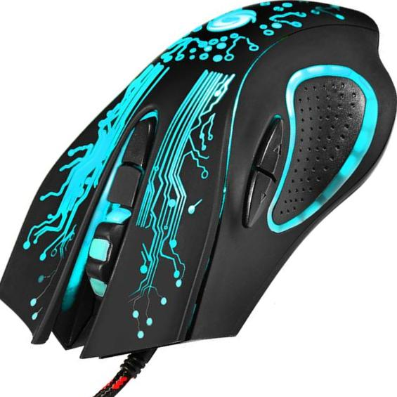 Ergo-namic Pro LED MultiColor Mouse (Console Compatible)