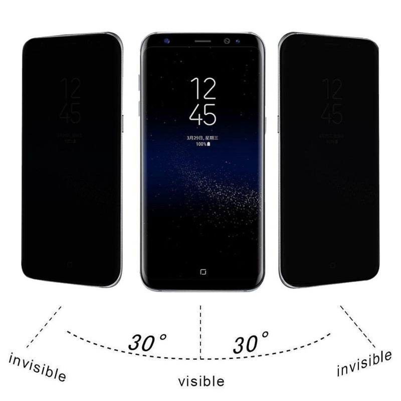 Privacy Tempered Glass For Samsung (s7 s8 s8 Plus A5 A7)