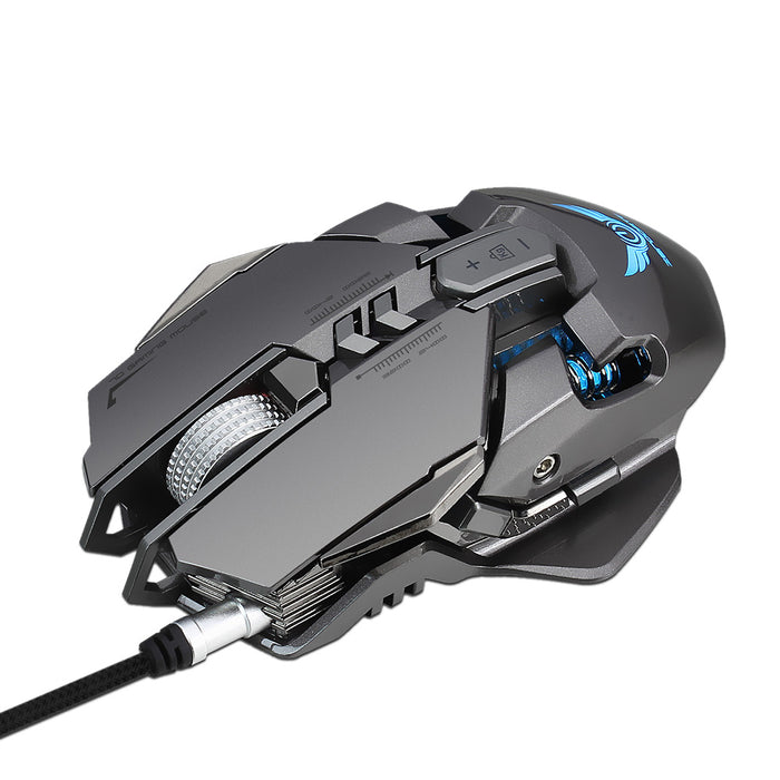 Magnus Gaming Mouse 7 Buttons Custom Weight 3200 DPI
