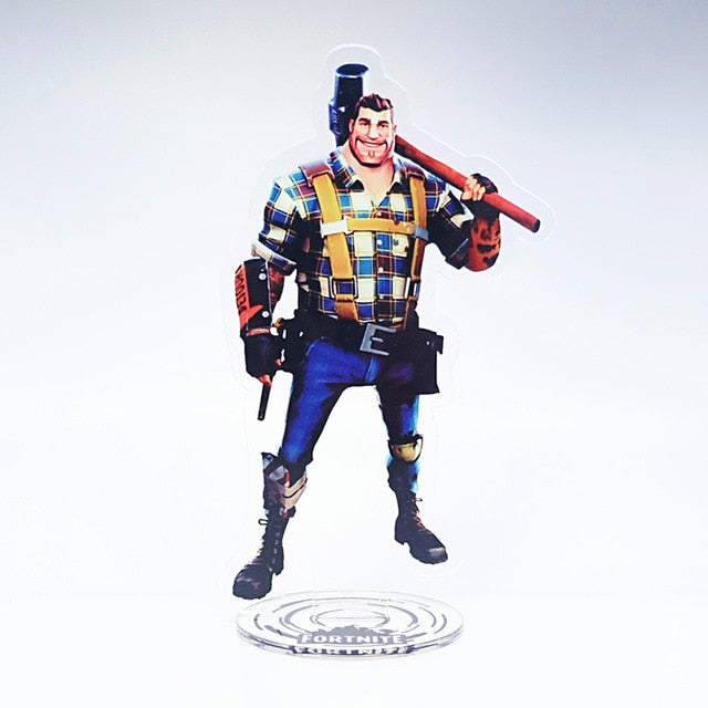 30 Styles Flat Action Figure