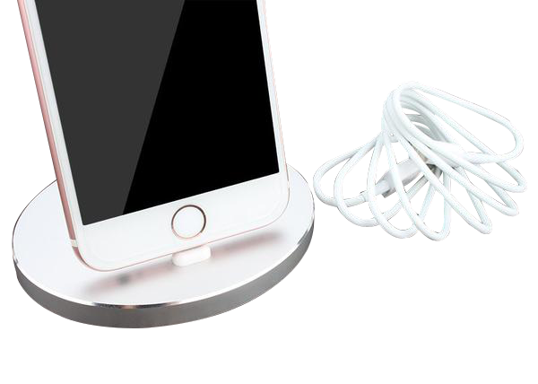 Lightning  Dock for iPhone Rounded design.