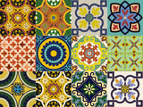 spanish Set of 24 Tiles Decals Tiles Stickers Tiles for walls Kitchen Bathroom C500