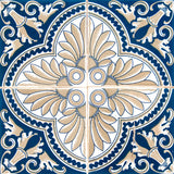 Design 24 tile stickers Mexican Talavera style Splashback stickers mixed for walls Kitchen decals bathroom Stair decals H16