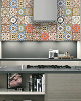 Back splash Set of 24 Tiles Decals Tiles Stickers Tiles for walls Kitchen Bathroom SB13