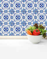 Wall decals tile stickers large design spanish Set of 24 Tiles Decals Tiles Stickers Tiles for walls Kitchen Bathroom H19
