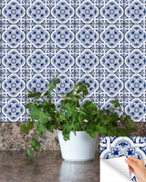 spanish Set of 24 Tiles Decals Tiles Stickers Tiles for walls Kitchen Bathroom H20