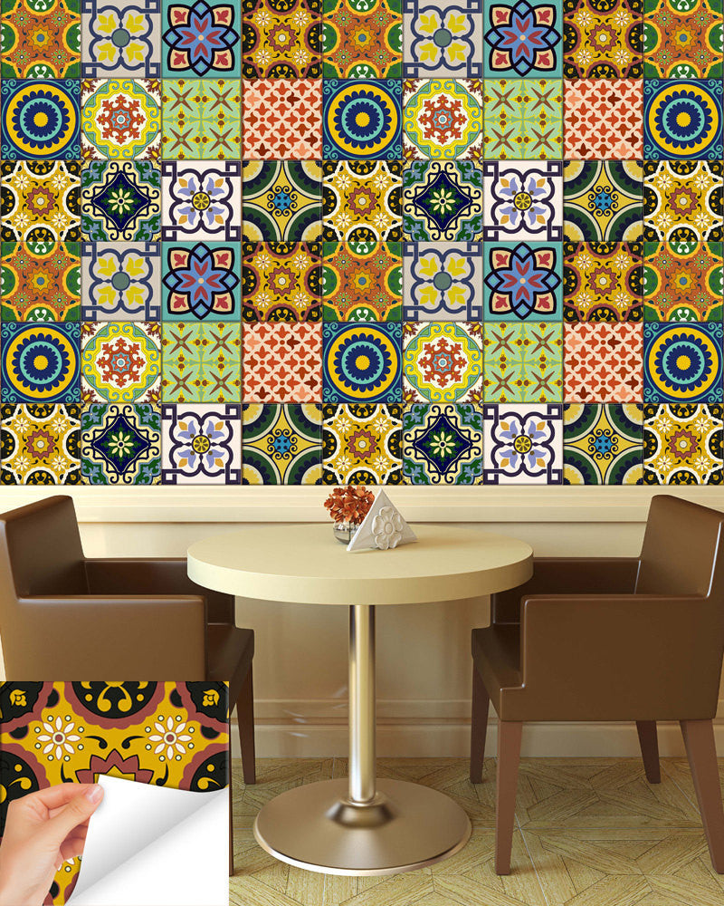 wall tile stickers kitchen 24 tile stickers kitchen idea bathroom tiles decals 6961