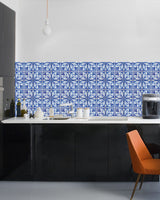 TILE STICKERS Set of 24 Tiles Decals Tiles Stickers Tiles for walls Kitchen Bathroom stickers carrelage H13