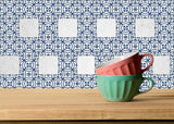 Set of 20 Tiles Decals Tiles Stickers mexican tile decal Kitchen Bathroom stickers carrelage A12