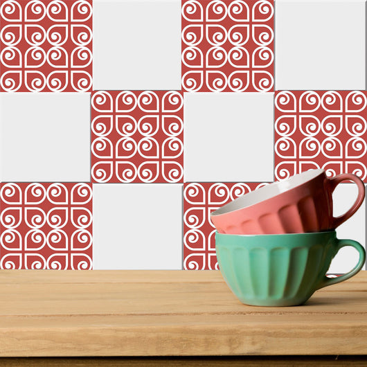 Set of 20 Tiles Decals Tiles Stickers Tiles for walls Kitchen Bathroom stickers carrelage K4