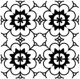 Set of 24 Tiles Decals Black & white home design decoration Tiles Stickers mexican tile decal Kitchen Bathroom BKW1