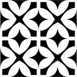 Tiles Decals Set of 20 Black & white home design decoration Tiles Stickers tile decal Kitchen Bathroom BKW5
