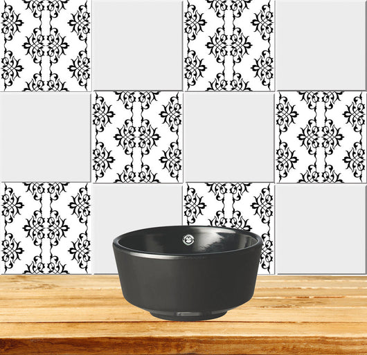 20x Retro Mexican Wall Tile Sticker Decals for Kitchen Bathroom Decor Vinyl US
