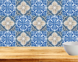 Bathroom Tile Set of 24 Tiles Decals Stickers mixed Tiles for walls Kitchen Accessories H201