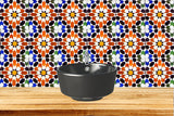 fliesenaufkleber Mexican tile Talavera Bathroom Tiles Set of 20 Tiles Decals  Tiles Stickers tile decal Kitchen Azulejos S5