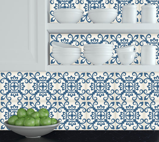 Set of 20 Tiles Decals Tiles Stickers Tiles for walls Kitchen Bathroom stickers carrelage A15