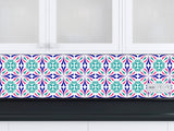 Set of 24 vintage traditional mexican Tiles Decals bathroom stickers mixed Tiles for walls Kitchen home decor K25