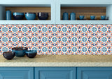 Murals tile Set of 24 Tile Stickers kitchen Decals Tiles Stickers Tiles for walls Kitchen decals Bathroom decals K20
