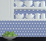 BLUE Kitchen decals Set of 24 Tile Stickers kitchen Decals Tiles Stickers Tiles for walls Bathroom decals K24