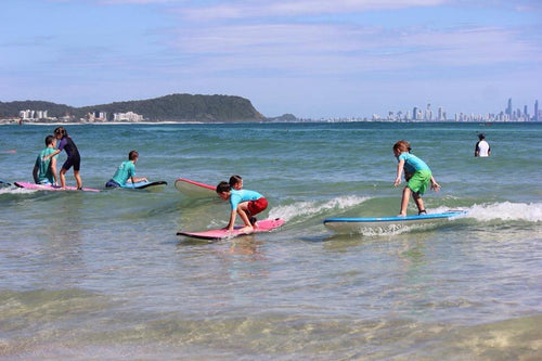 Student Group Surf Lessons Buy 4 get 5th free