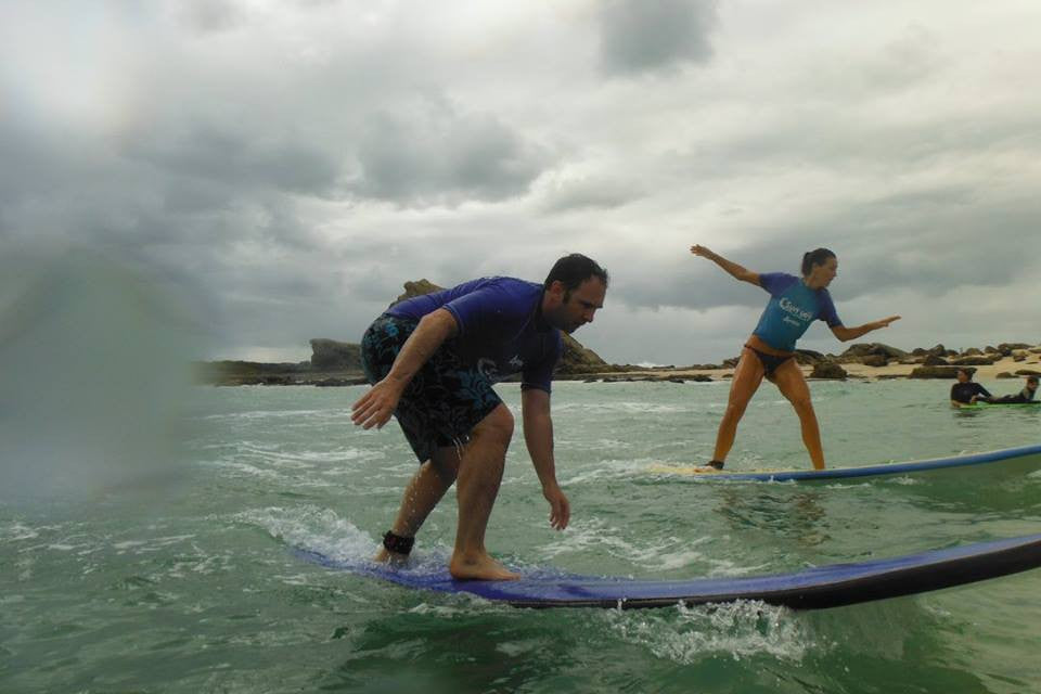 Private Surfing Lesson For 2 People Hour and a half