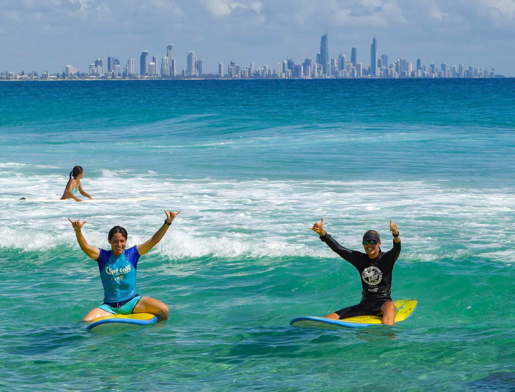 Adult Group Surf Lessons Buy 4 get the 5th Free
