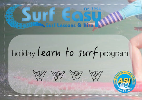 School Holiday Kids Learn to Surf Program ( under 16 )