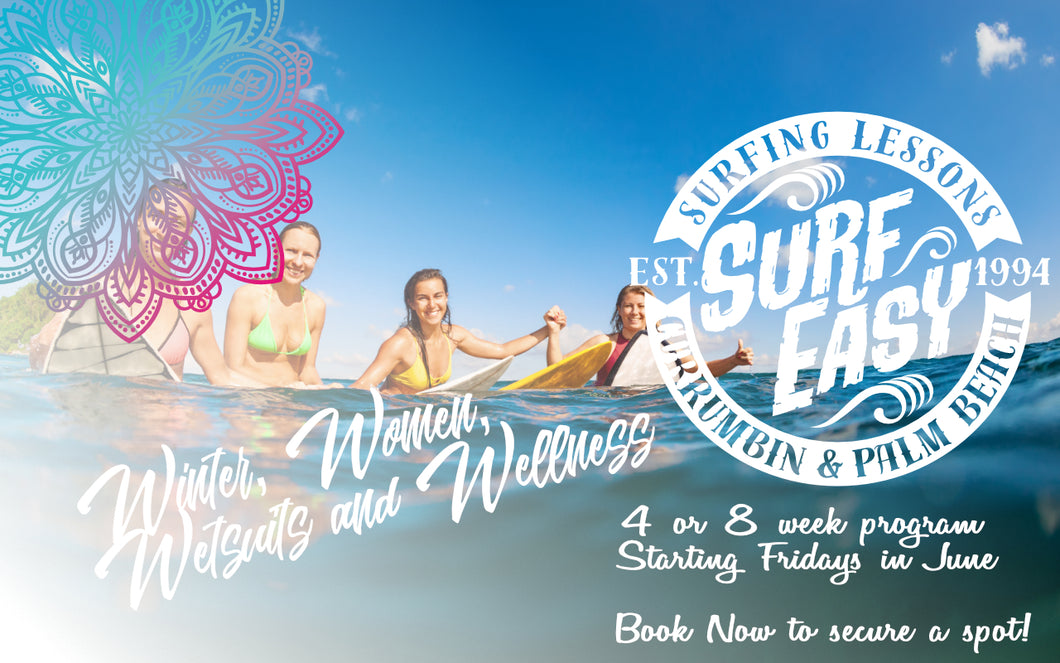 Winter Womens Surf Course 4 weeks