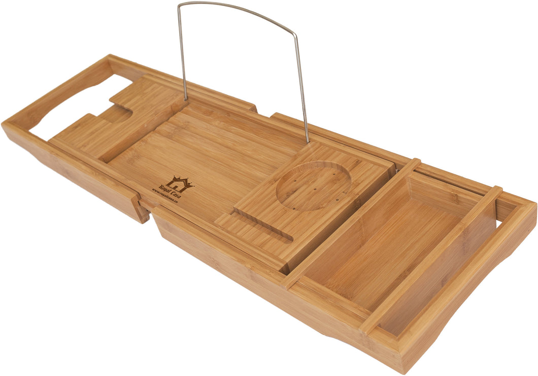 Bamboo Bathtub Caddy – Royal Casa