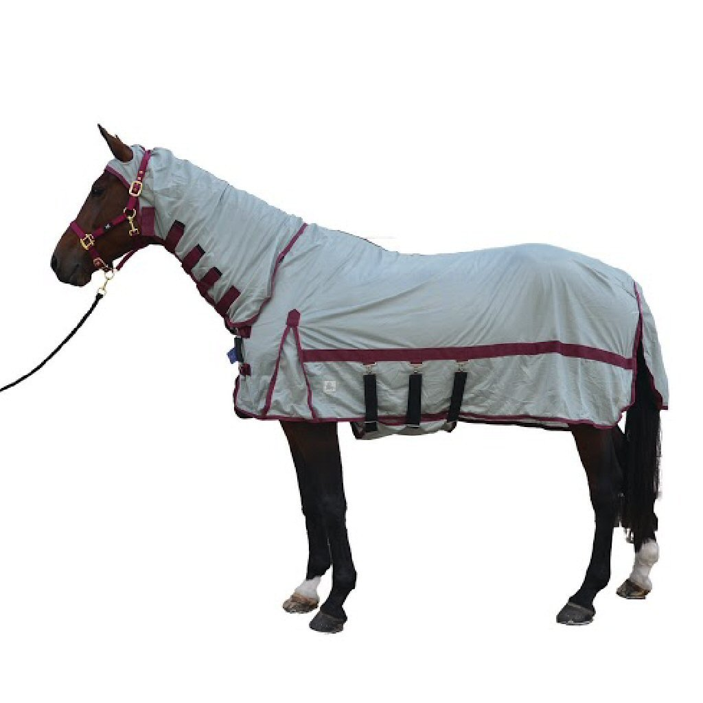 Hy Guardian Fly Rug With Mask