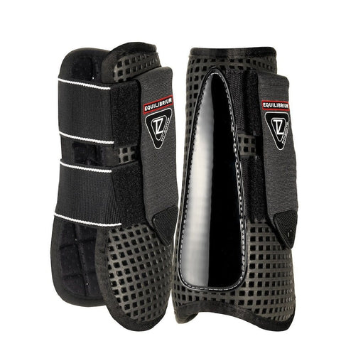 Equilibrium Trizone Tendon Boots and Fetlock Boots Set