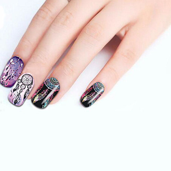 NAIL ART STICKERS D.I.Y DREAM CATCHER FULL WRAPS - Aisle Finds