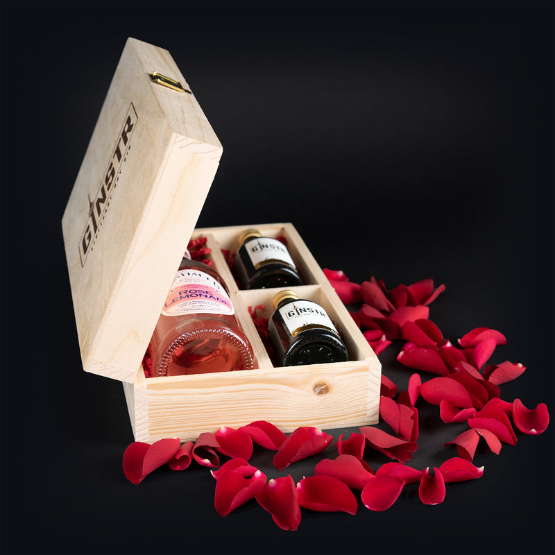 Die GINSTR Love-Box (mit Rose Lemonade)