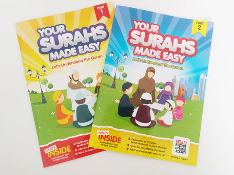 Your Surahs Made Easy Bundle - minimuslimplayground