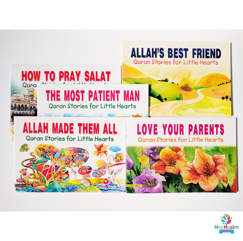 Quran Stories for Little Hearts Bundle - minimuslimplayground