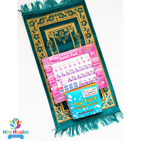 Salah Bundle for Girls Choose Your Colour - minimuslimplayground