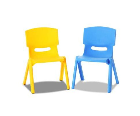 Kids Tables Chairs Yellow Table Yellow and Blue Chair The