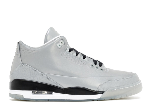 "AIR JORDAN 3 ""5LAB3 SILVER REFLECTIVE"""