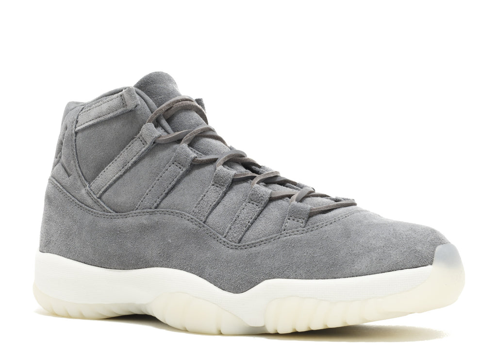 "AIR JORDAN 11 ""PINNACLE GREY SUEDE"""